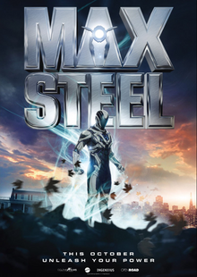 Max Steel 2016 DVD Cover