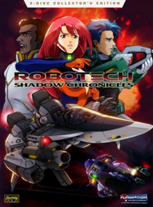 Robotech The Shadow Chronicles 2006 DVD Cover