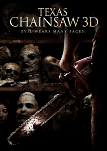Texas Chainsaw 3D 2013 DVD Cover