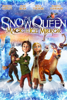The Snow Queen 2 Magic of the Ice Mirror 2014 DVD Cover