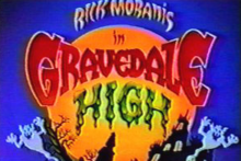 Gravedale High 1990 Title Card