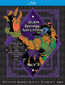 JoJo's Bizarre Adventure 2015 Blu-Ray Cover