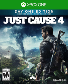 Just Cause 4 2018 Game Cover