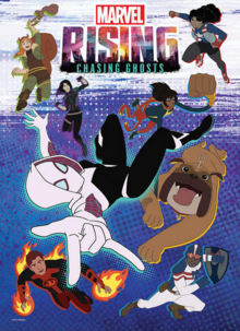 Marvel Rising Chasing Ghosts 2019 Poster