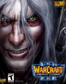 Warcraft III The Frozen Throne 2003 Game Cover