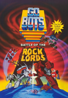 GoBots Battle of the Rock Lords 1986 Poster