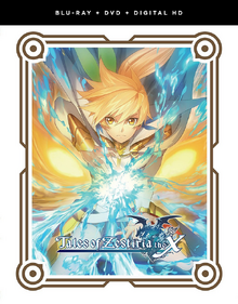 Tales of Zestiria the X 2016 Blu-Ray DVD Cover