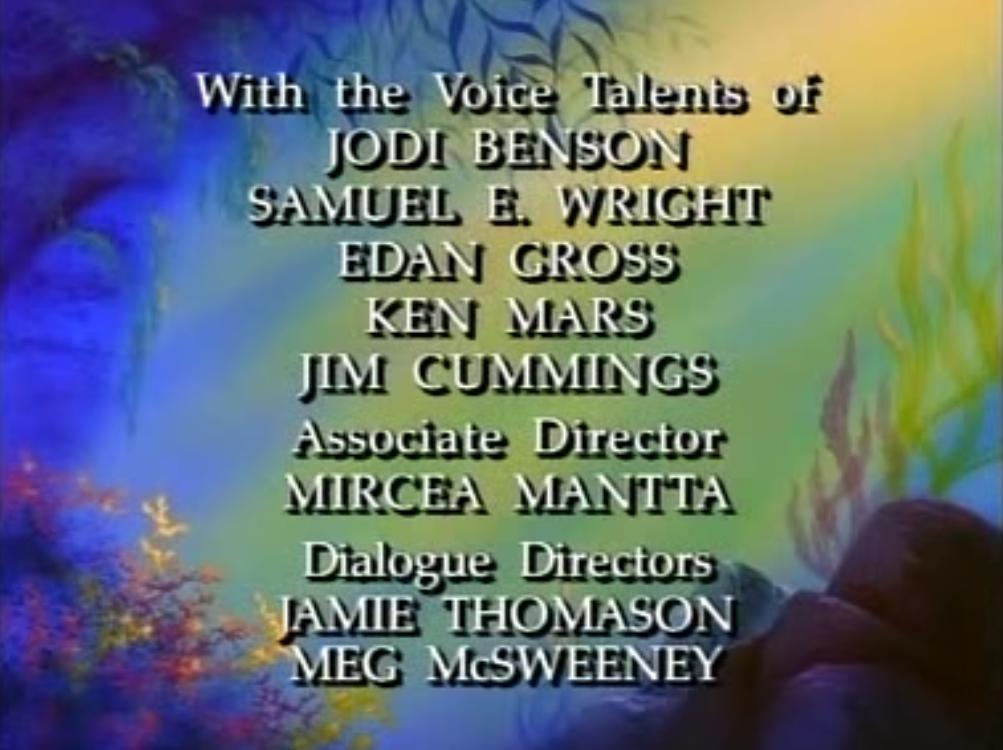 Disney's The Little Mermaid (1992) | English Voice Over