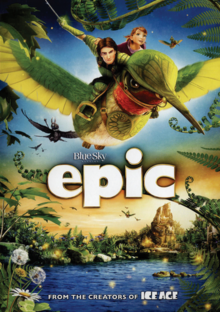Epic 2013 DVD Cover
