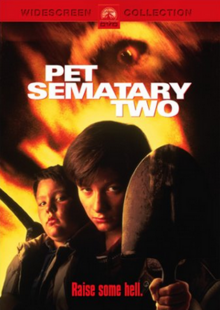 Pet Sematary Two 1992 DVD Cover