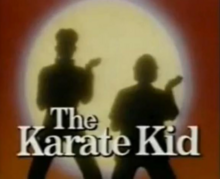 The Karate Kid 1989 Title Card