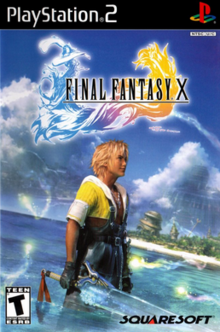 Final Fantasy X 2001 Game Cover