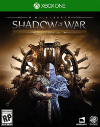 Middle-earth Shadow of War 2017 Game Cover