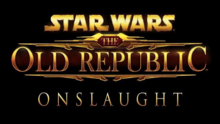 Star Wars The Old Republic Onslaught 2019 Title Card