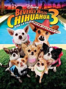 Disney Beverly Hills Chihuahua 3 Viva la Fiesta! 2012 DVD Cover
