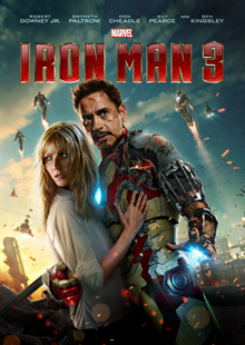 Iron Man 3 2013 DVD Cover