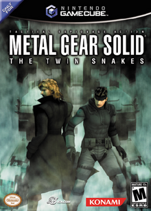 Metal Gear Solid The Twin Snakes 2004 Game Cover