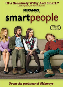 Smart People 2008 DVD Cover