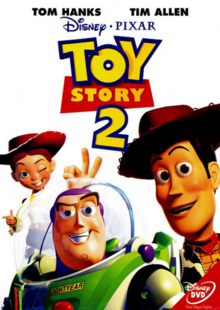 Toy Story 2 1999 DVD Cover