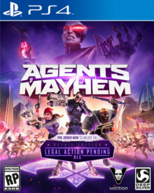 Agents of Mayhem 2017 Game Cover