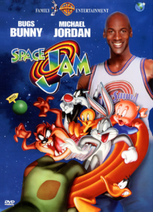 Space Jam 1996 DVD Cover