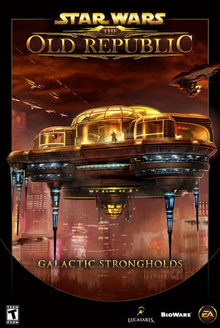 Star Wars The Old Republic Galactic Strongholds 2014 Game Cover