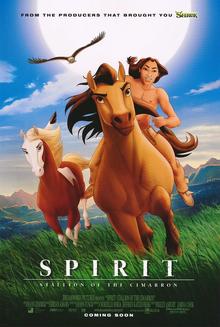 Spirit Stallion of the Cimarron 2002 Poster
