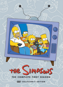 The Simpsons 1989 DVD Cover
