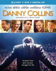 Danny Collins 2015 Blu-Ray DVD Cover