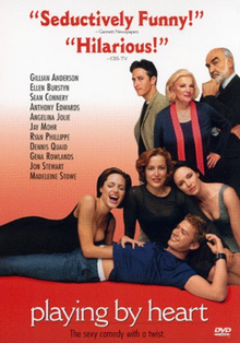 Playing by Heart 1998 DVD Cover