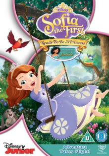 Sofia the First 2013 DVD Cover