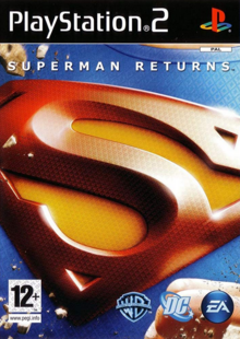 Superman Returns 2006 Game Cover