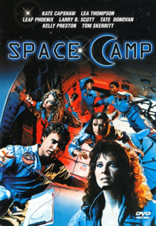 SpaceCamp 1986 DVD Cover