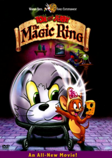 Tom and Jerry The Magic Ring 2002 DVD Cover