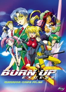 Burn Up Excess 2002 DVD Cover