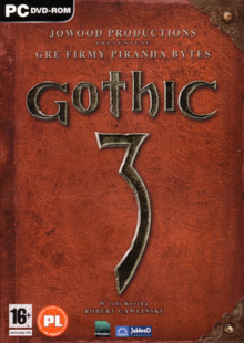 Gothic 3 2006 Game Cover