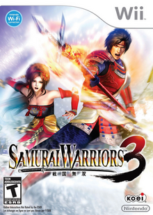 Samurai Warriors 3 2010 Game Cover