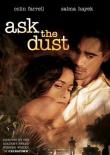Ask the Dust 2006 DVD Cover