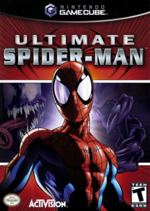 Ultimate Spider-Man 2005 Game Cover