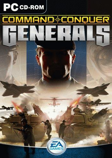 Command & Conquer Generals 2003 Game Cover