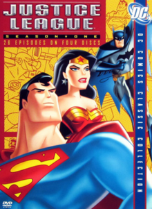 Justice League 2001 DVD Cover