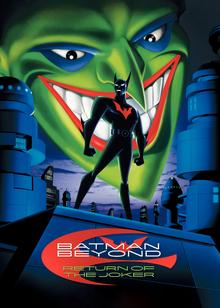 Batman Beyond Return of the Joker 2000 DVD Cover