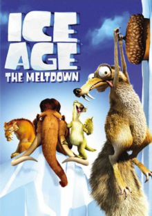 Ice Age The Meltdown 2006 DVD Cover