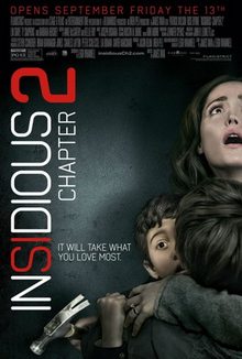 Insidious Chapter 2 2013 Poster
