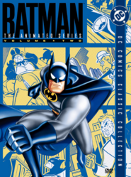Batman The Animated Series 1992 DVD Cover