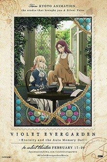 Violet Evergarden Eternity and the Auto Memory Doll 2020 Poster