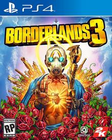 Borderlands 3 2019 Game Cover