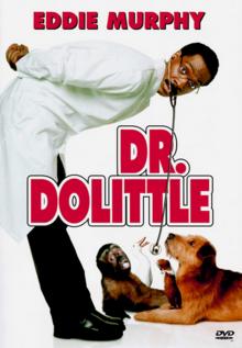 Dr. Dolittle 1998 DVD Cover