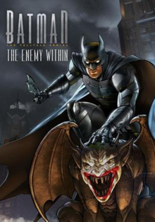 Batman The Telltale Series The Enemy Within 2017 Game Cover