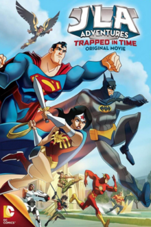 JLA Adventures Trapped in Time 2014 DVD Cover